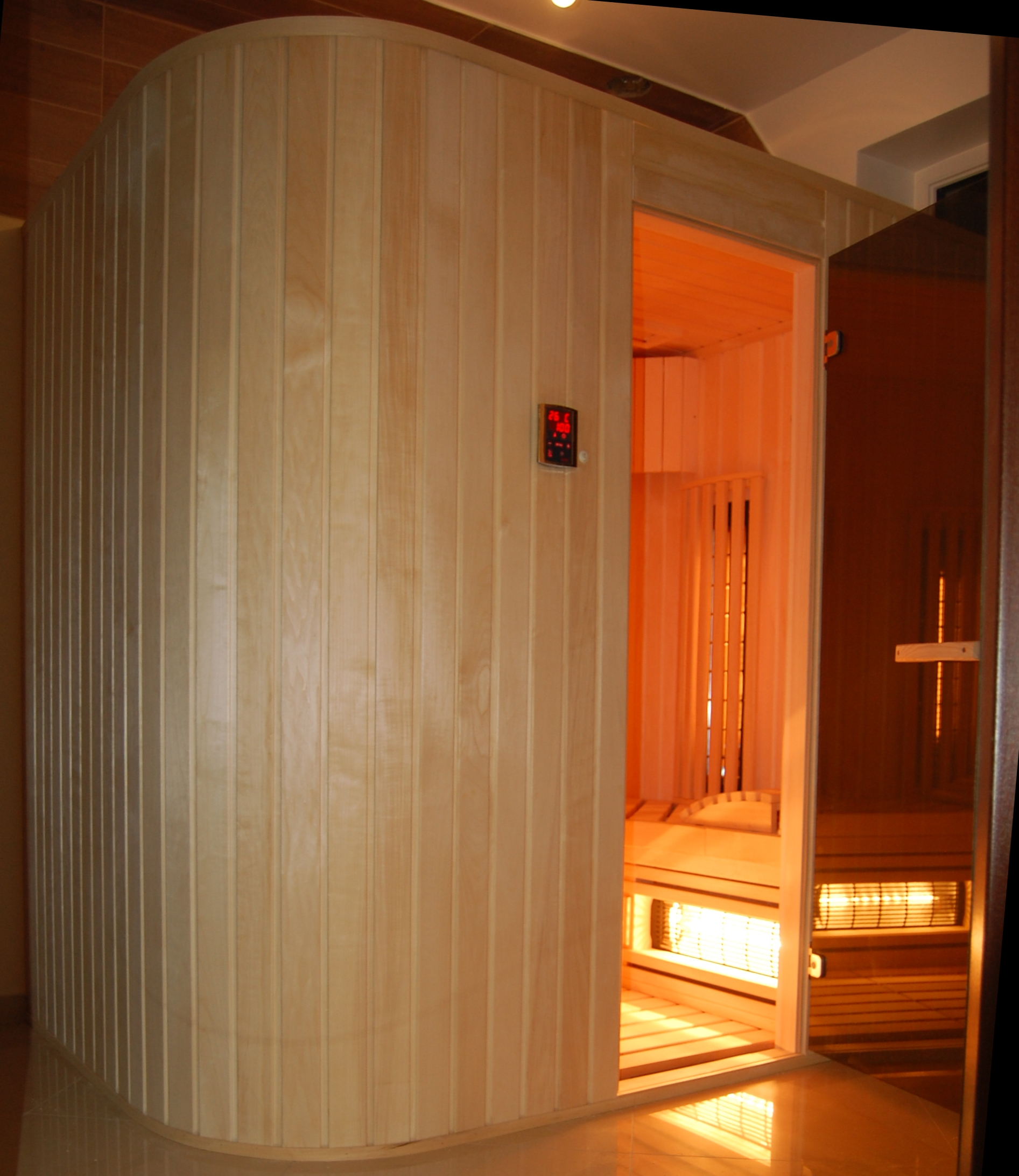 Sauna infrared na wymiar