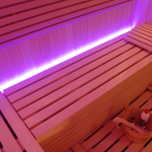 wnętrze sauny abachi