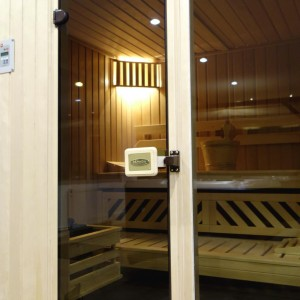sauna gotowa front