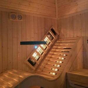 sauna świerkowa