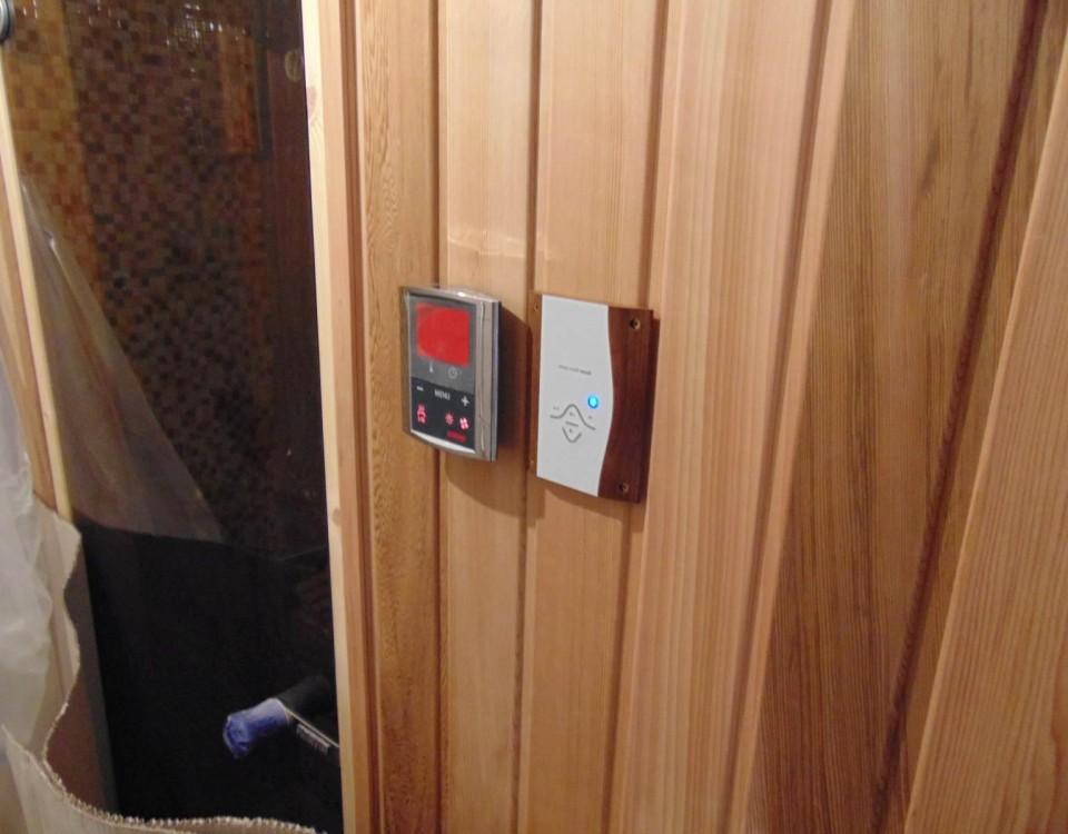 Budowa sauny - zdjęcie w trakcie